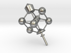 Dreidel Crystal Structure in Natural Silver