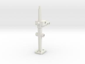 Heli Skimmer Frame in White Natural Versatile Plastic