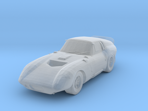 Shelby Daytona Cobra Coupe Z-Scale in Smooth Fine Detail Plastic: 1:220 - Z