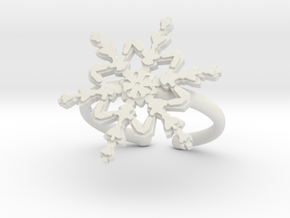 Snowflake ring 2 h21d165a adjustable 39 in White Premium Versatile Plastic