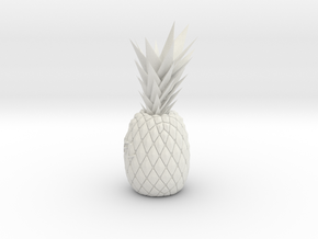 Customize pineapple in White Natural Versatile Plastic