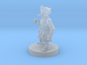 Gnome Monk 2 in Smooth Fine Detail Plastic