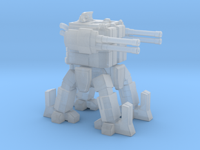 ICE Mech Gunner in Smooth Fine Detail Plastic
