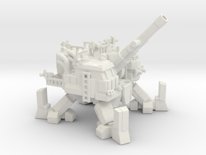 ICE Mech Artillery in White Natural Versatile Plastic