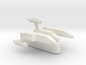 3788 Scale Lyran Light Tactical Transport (LTT) CV in White Natural Versatile Plastic