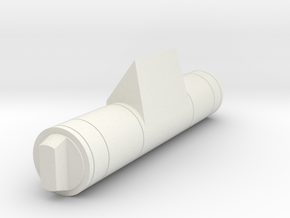 Replica Droid Ankle Cylinder w/ Wedge in White Natural Versatile Plastic