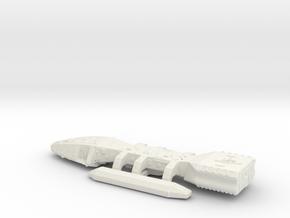 Tos Battlestar Galactica 1:10000 in White Natural Versatile Plastic