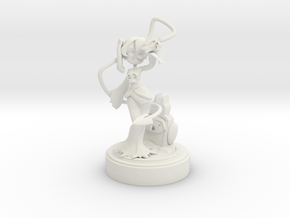 Skullgirls FanArt - Squigly in White Natural Versatile Plastic