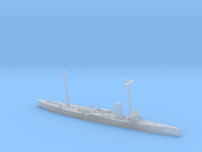 SMS Blitz 1/1200 (with mast) in Smooth Fine Detail Plastic