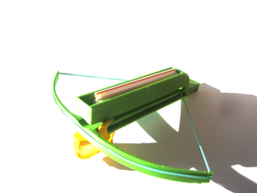 Toy-Crossbow in White Natural Versatile Plastic