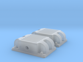 BND30 standard couplers in Smooth Fine Detail Plastic: 1:45