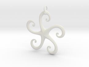 5Star in White Natural Versatile Plastic