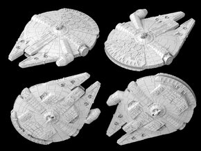 "YT-1300 ""Night Havok"" (1/270) in White Natural Versatile Plastic"