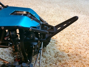 RR10 Axial Bomber, Front Long Stinger Bumper in Black Strong & Flexible
