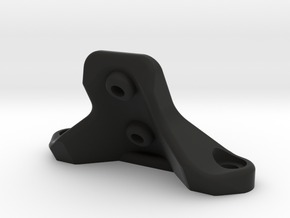 B6 Low Front Wing Mount in Black Strong & Flexible