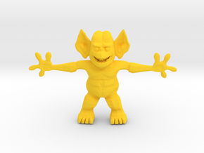 Freddy Freaker, the Party Freak in Yellow Processed Versatile Plastic