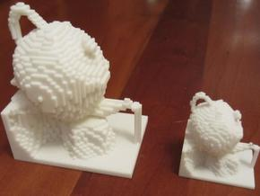 Teapot $25 in White Natural Versatile Plastic