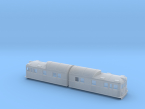 Swedish SJ electric locomotive type Ob in Smooth Fine Detail Plastic