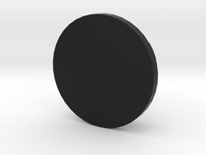 MINI FELGENDECKEL V01 5 Zeichen in Black Natural Versatile Plastic