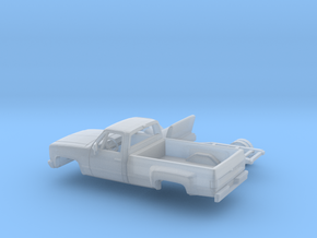 1/87 1981-88 Chevy Silverado Series Reg Cab Dually in Smooth Fine Detail Plastic