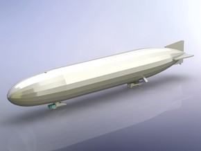 German Airship Zeppelin L10 (LZ40) 1/1800  in Smooth Fine Detail Plastic