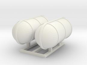 Rettungsinseln / Liferaft 1:50 in White Natural Versatile Plastic