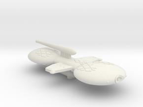 3125 Scale Gorn Allosaurus Buck+ Battlecruiser in White Natural Versatile Plastic