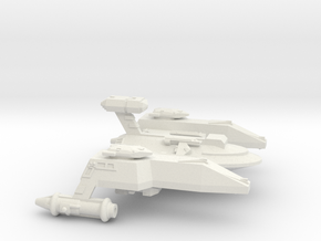 3788 Scale WYN Pocket Battleship (PBB) CVN in White Natural Versatile Plastic