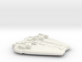 3125 Scale Maesron Early Gunboat Tender (PFT) MGL in White Natural Versatile Plastic