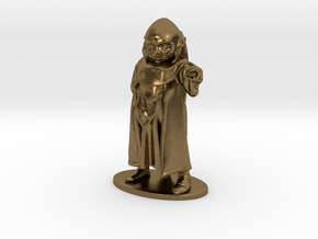Dungeon Master Miniature in Natural Bronze: 1:55