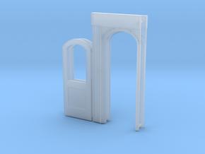 Bidwell vestibule door 2x in Smoothest Fine Detail Plastic
