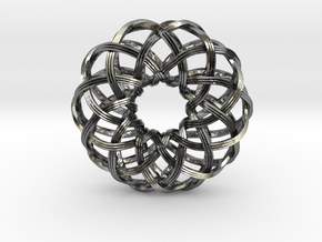 Rosa-10c4s2 in Polished Silver