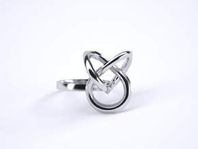 Bague Torsale Taille 50 in Polished Silver