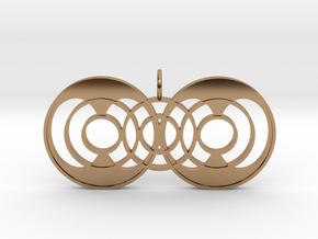 Quantum Continuator in Polished Brass