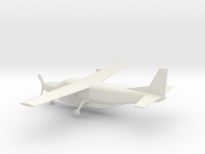 Cessna 208B Grand Caravan in White Natural Versatile Plastic: 1:160 - N