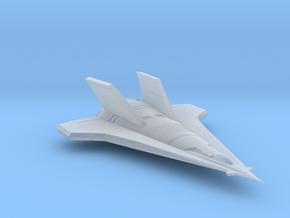 Valkyrie Cadet Spaceship in Smooth Fine Detail Plastic
