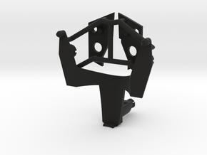 VF-25 Renewal Fold Booster Adapter, Kit in Black Premium Versatile Plastic
