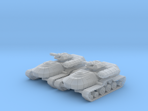 1/270 Rebel T3-B Heavy Attack Tanks (2) in Smooth Fine Detail Plastic