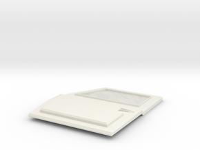 TRX-4 Tactical Front left  Door no logo in White Premium Versatile Plastic