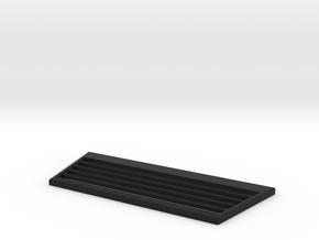 TRX-4 Radiator Grill v4 in Black Premium Versatile Plastic