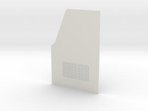 TRX-4 Read door passenger side v1 in White Natural Versatile Plastic