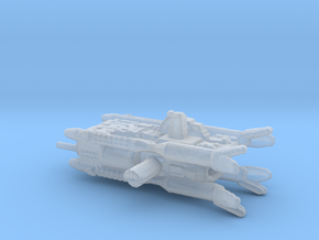Earth Alliance Olympus corvette high detail  26mm in Smooth Fine Detail Plastic