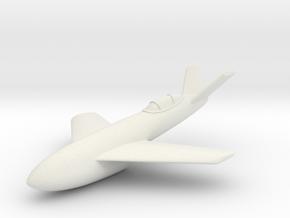 (1:144) Messerschmitt Me P.1106 - Rocket powered in White Natural Versatile Plastic
