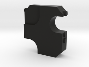 Swiss Arms Uzi - Buffer  Block 7,5mm in Black Natural Versatile Plastic