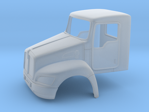 KW T370 daycab 64th in Smooth Fine Detail Plastic