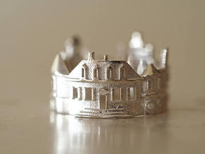 Williamsburg Ring - Architect Jewelry in Polished Silver: 6 / 51.5