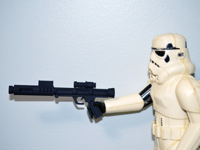 "PRHI Star Wars Kenner Stormtrooper 12"" Blaster 1 in Black Natural Versatile Plastic"