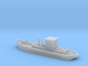 1:350 Canal steam tug in Smooth Fine Detail Plastic