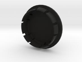 FELGENDECKEL_1 indiv. bis 7 Zeichen beschreibbar in Black Natural Versatile Plastic