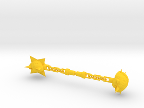 Membros Chained Brain Weapon in Yellow Processed Versatile Plastic